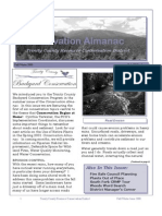 Fall - Winter 2000 Conservation Almanac Newsletter, Trinity County Resource Conservation District