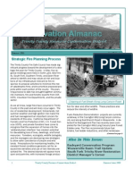 Summer 2000 Conservation Almanac Newsletter, Trinity County Resource Conservation District