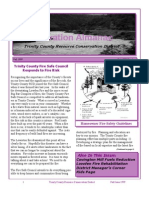 Fall 1999 Conservation Almanac Newsletter, Trinity County Resource Conservation District