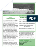 Spring 1999 Conservation Almanac Newsletter, Trinity County Resource Conservation District