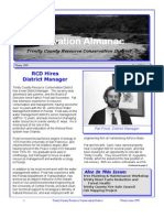Winter 1999 Conservation Almanac Newsletter, Trinity County Resource Conservation District