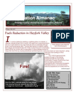Winter 1997 Conservation Almanac Newsletter, Trinity County Resource Conservation District