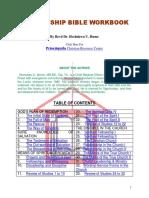 Discipleship Bible Workbook