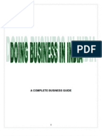 Doing Business in India- A Business Guide