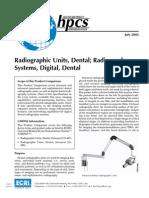 Radiography, Dental (LENGKAP)