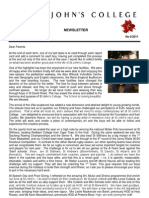 Newsletter 6 Michaelmas Term 2011