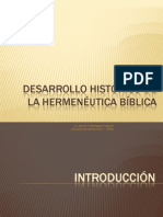 02 Historia de la Hermenéutica Bíblica