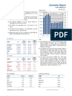 Derivatives Report 8th December 2011