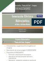 Generación Hidrocinética-Uruguay Dic 201