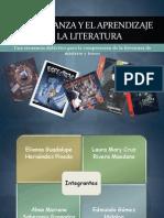La enseñanza y el aprendizaje de la literatura
