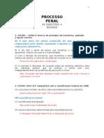 Processo Penal_42 Questoes + Revisao