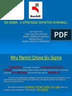 Six Sigma a Strategic Initiative in Ranhill