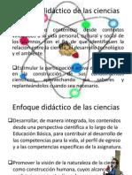 Enfoque de Las Ciencias 2011 -2012