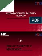 INTEGRACIÓN DEL TALENTO HUMANO