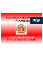 Seni Dan Kebudayaan Indonesia