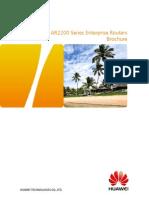AR2200 Enterprise Routers Brochure