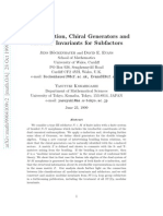 Jens Bockenhauer and David E. Evans- On α-Induction, Chiral Generators and Modular Invariants for Subfactors
