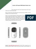 Huawei 21.6Mbps Routeur Wifi-Huawei E586 Modem Routeur Sans Fil