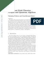 Valentina Petkova and Jean-Bernard Zuber- Conformal Field Theories, Graphs and Quantum Algebras