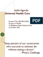 Aquino Health Agenda