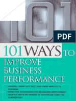 101 Ways to Improve Business Performance