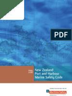 NZ Port Harbour Marine Safety Code