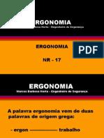 Ergonomia - NR 17 -------------- 1