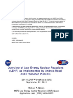 Nasa Nelson Grc Lenr Workshop