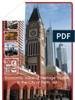 Heritage Tourism-Measuring Economic-Value of Tourism Perth