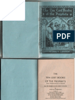 The Ten Lost Books of the Prophets