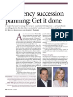 Emergency Succession Planning Get It Done