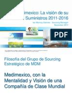 Medimexico y Su Vision de La Cadena de Suminstros