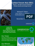 Carbon Market Presentation Nov 3 2011 Totten