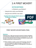 7. First Mover