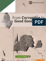 Australia, Corruption to Good Governance