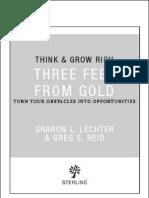 Three Feet From Gold - Sharon L. Lechter