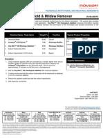 H-HS-0007C Chlorine Bleach Mold Mildew Remover