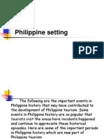Philippine Setting