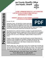 Maricopa County (AZ) Sheriff Office Bulletin 12.07.11