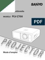 Sanyo PLV Z700