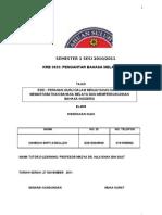 Tugasan Krb 3033 Dasar Mbmmbi Hamidah Asbulleh (d20102045949) El-b35
