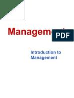 1st Lecture- Management
