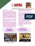 Newsletter Sept 2011