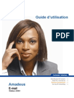 Guide Dutilisation Amadeus E Mail