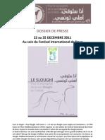 Communique de Presse Sloughi 2011