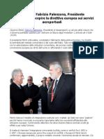 Palenzona / Monti, recepire la direttiva europea sui servizi aeroportuali