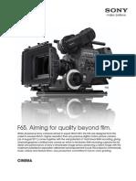 F65 Camera CinemaPDF