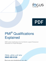 PMI Qualifications and Training Explained