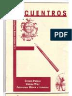 """""""Encuentros"""" Nueva Época Revista de Letras Nº 1"""