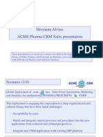 Methodology for CRM Commercial Pre-Presales Presentation